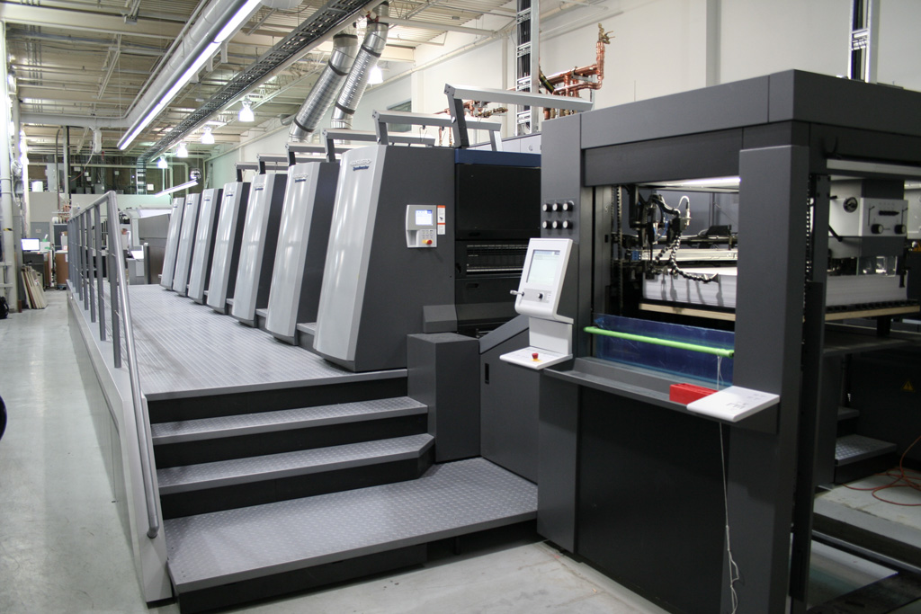 Heidelberg XL106 UV Press
