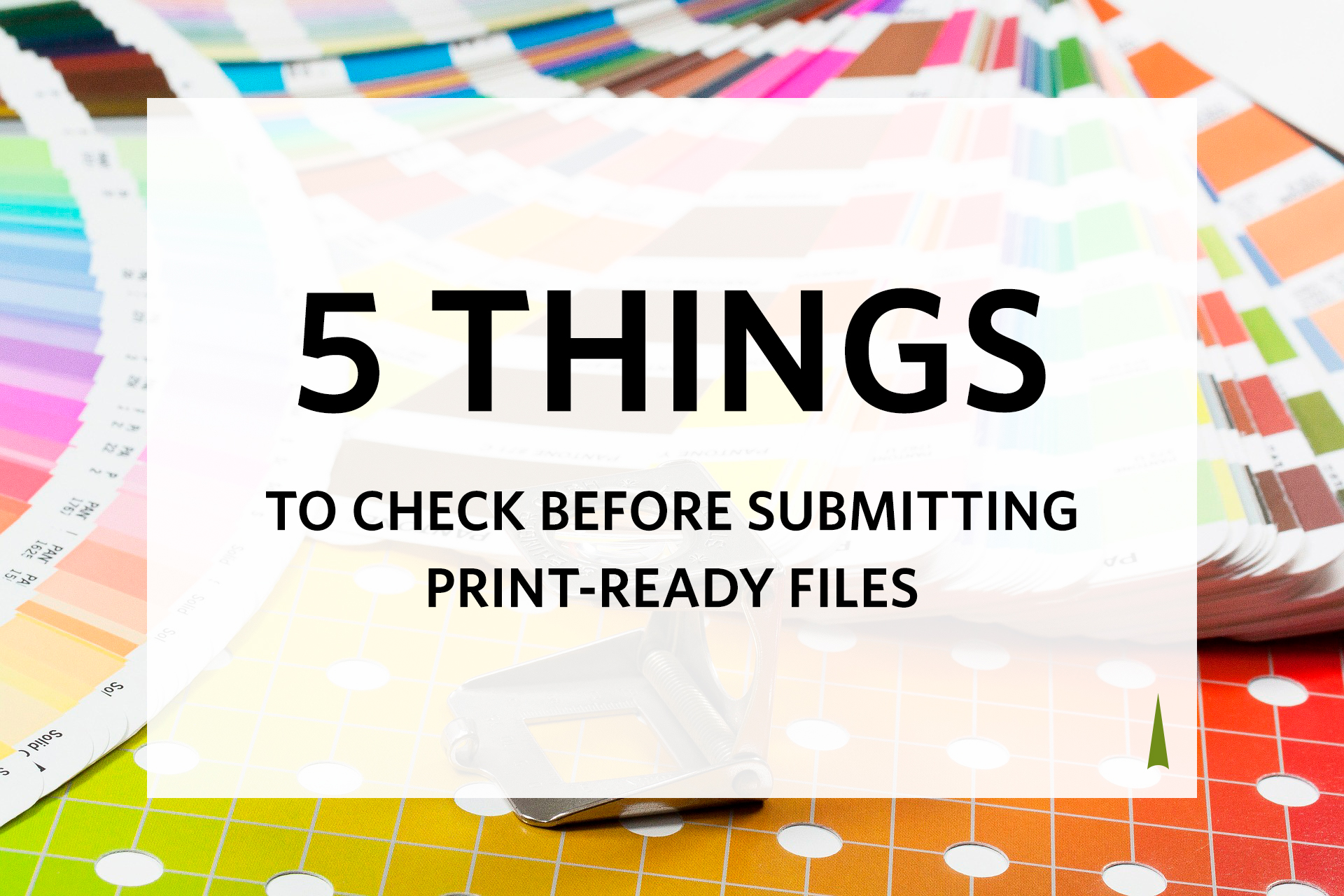 Submit Print Ready Files to the Printer