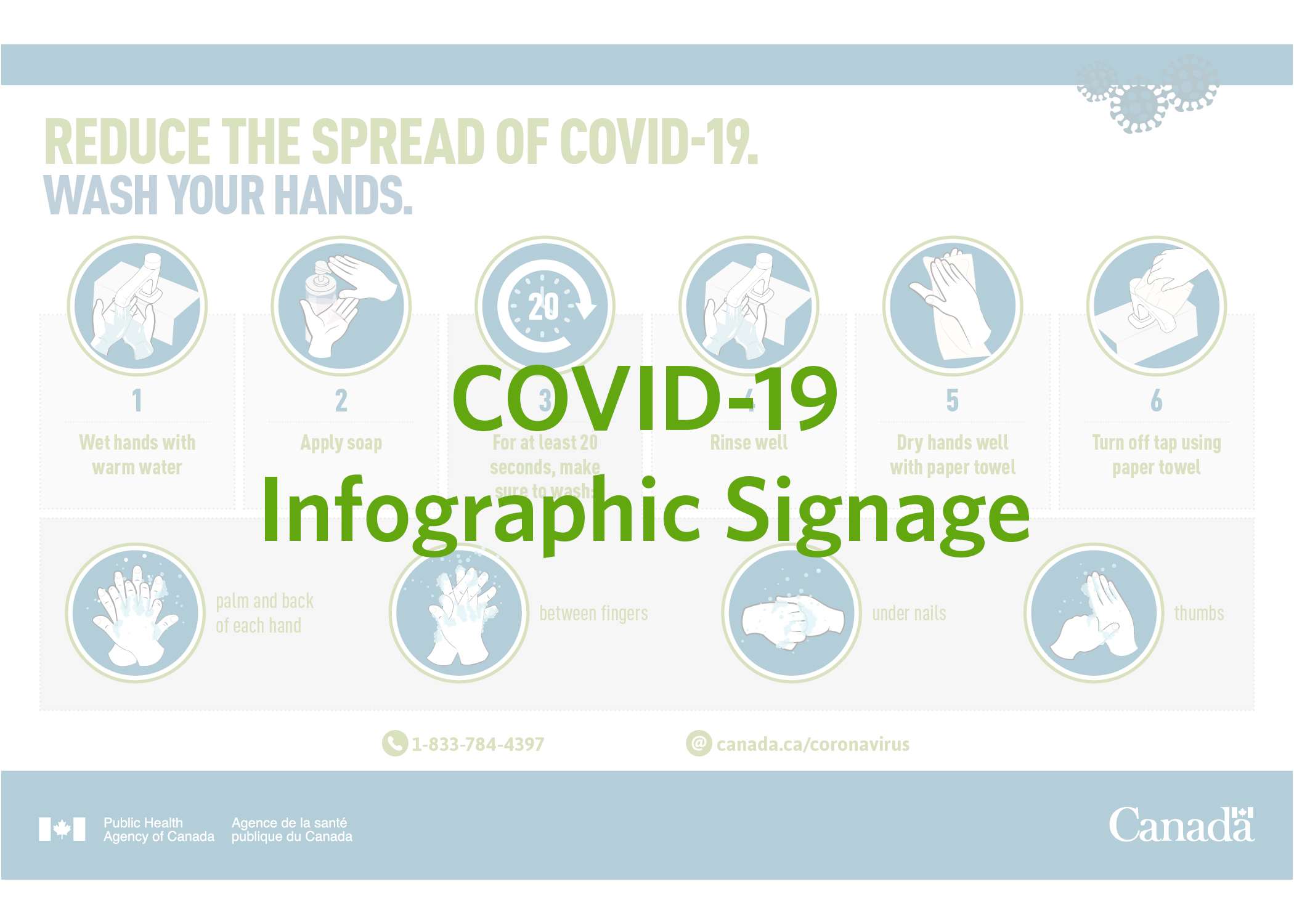 COVID-19 Infographic Signage